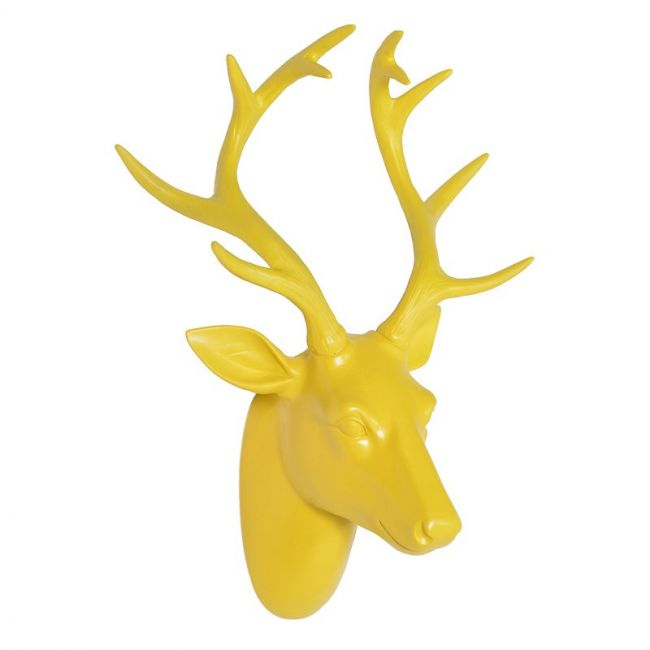 Yellow Deer Head