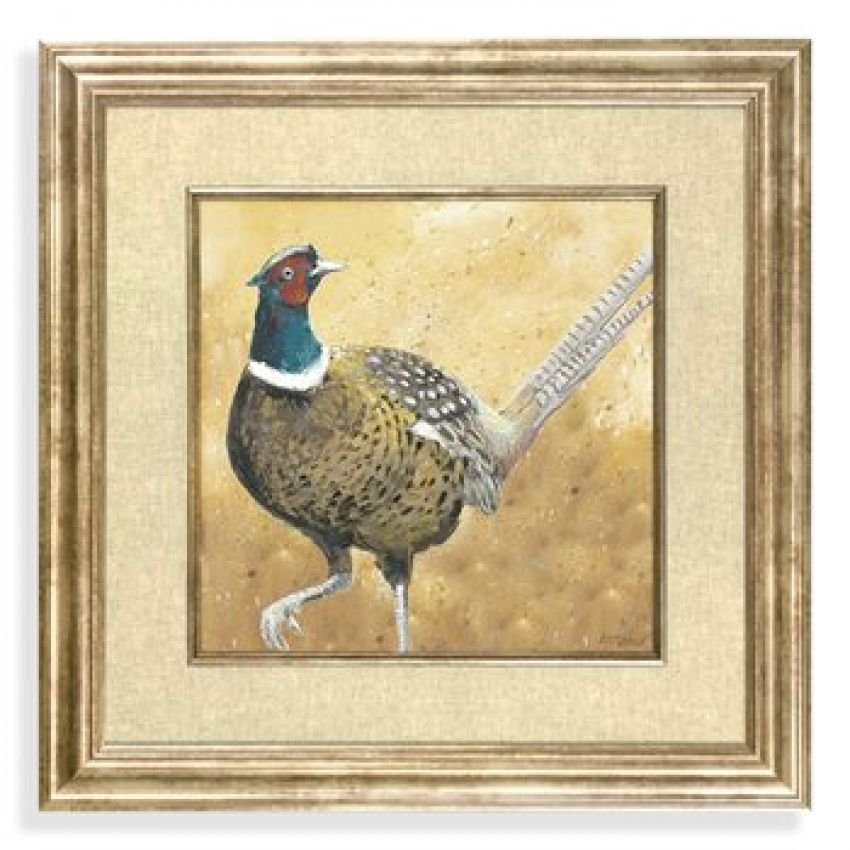 Gold Framed Picture- The Pheasant
