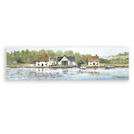 The Fishing Village Print