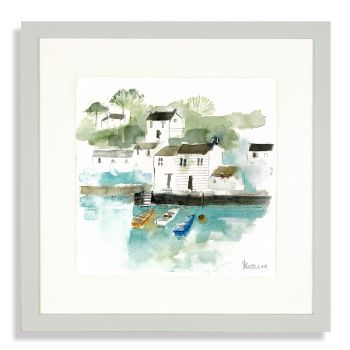 Three Little Boats af3736 picture of sails long floating watercolour picture beautiful for walls long horizon print sabrina roscino pretty boats ships picture lovely decoration artmarketing art just trio justtrio