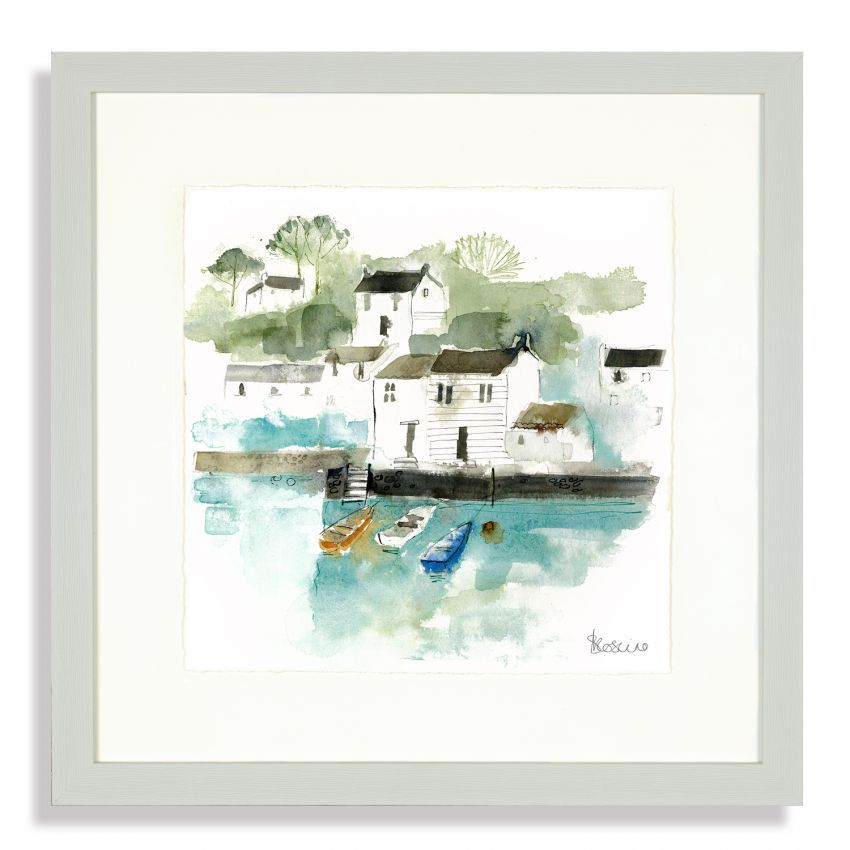 Art Marketing Three Little Boats Picture