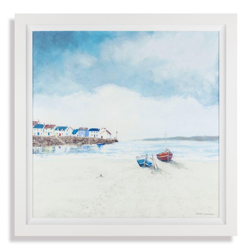 At Low Tide Print