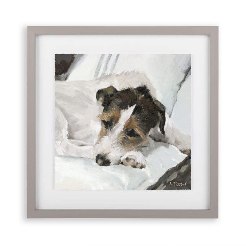 Art Marketing Jack Dog Print