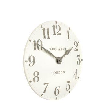"Thomas Kent Arabic Limestone Clock 12"" CAA2WTO12001. Thomas kent 12 inch wall clock."