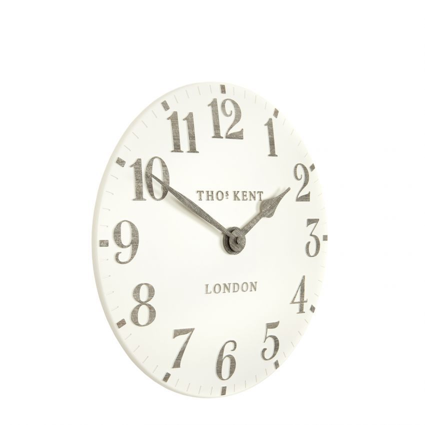 Thomas Kent Arabic Limestone Clock 12 From Just Trio