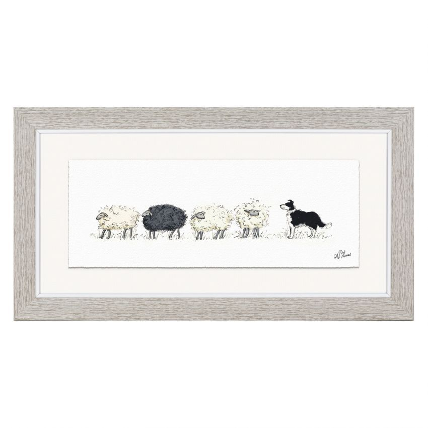 Art Marketing Counting Sheep Print