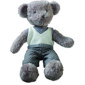 Biggie Best Leo Teddy Bear B135W030. This elegant teddy bear is a gorgeous keepsake for your children or grandchildren. A stunning teddy to keep forever!
