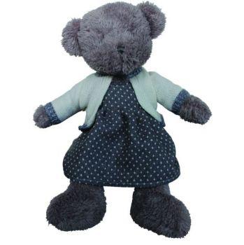 Biggie Best Lola Teddy Bear G13SW031. This elegant teddy bear is a gorgeous keepsake for your children or grandchildren. A stunning teddy to keep forever!