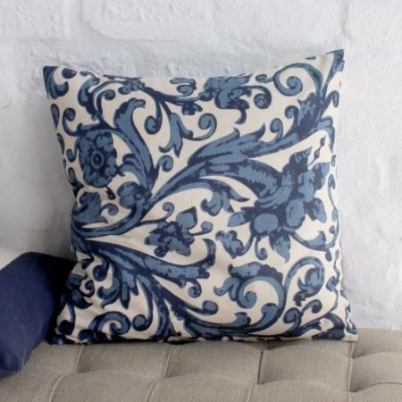 Coastal Floral Cushion