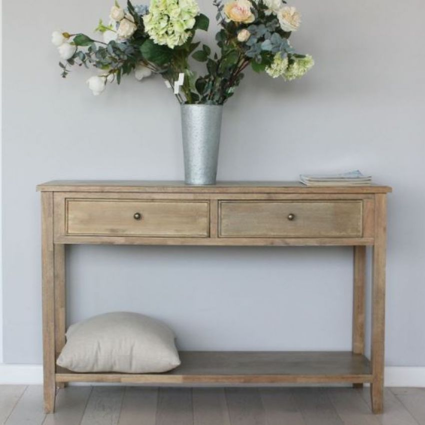 Biggie Best Tetbury Natural Console Table