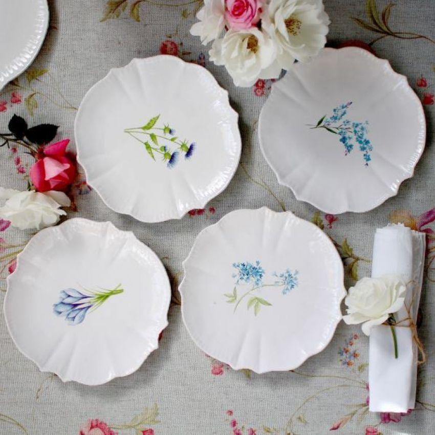 Biggie Best Flower Side Plates