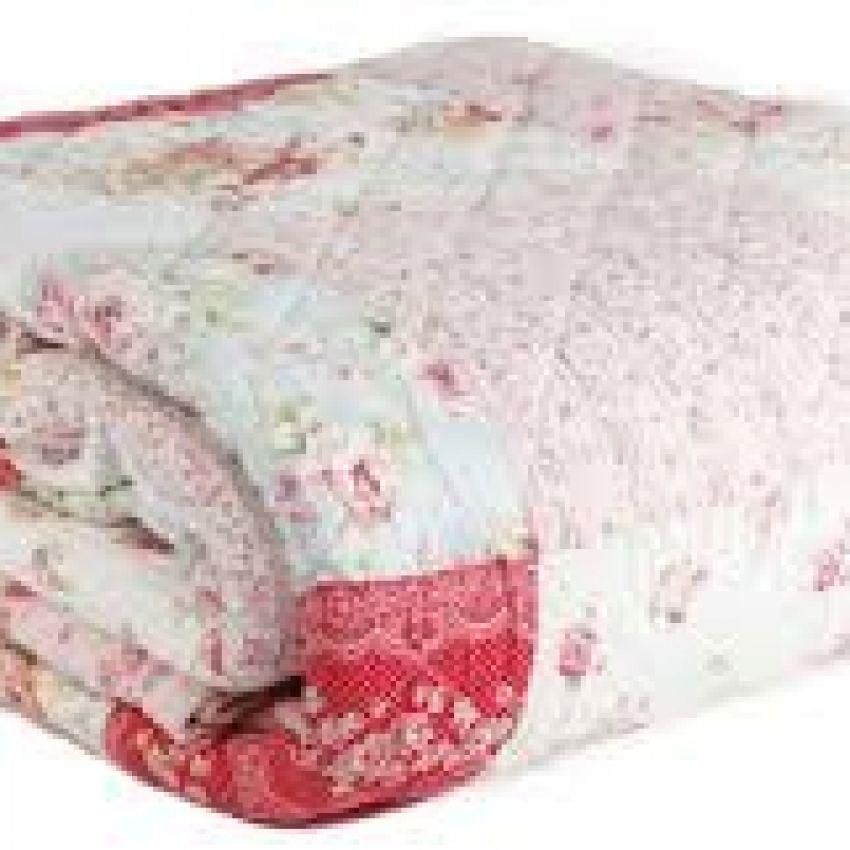 Ditsy Floral Patchwork Bedspread-Quilt