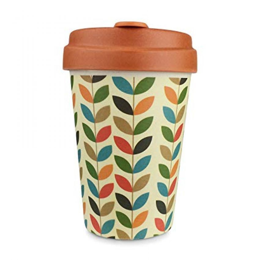Chic Mic Bright Leaves Bamboo Cup