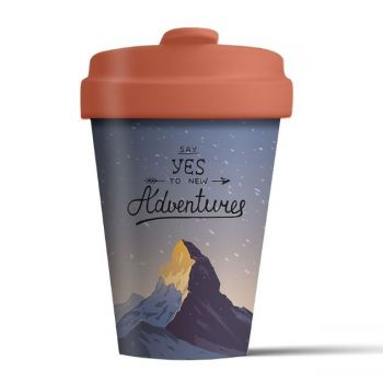 Chic Mic Mountain Adventure Bamboo Cup BCP267. Have a look at this beautiful eco-friendly coffee cup.