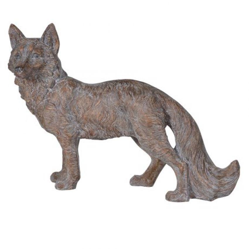 Golden Standing Fox