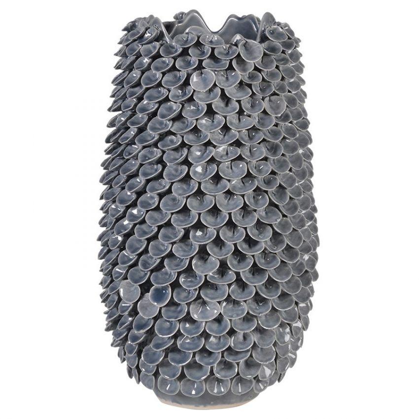 Ceramic Leaf Vase