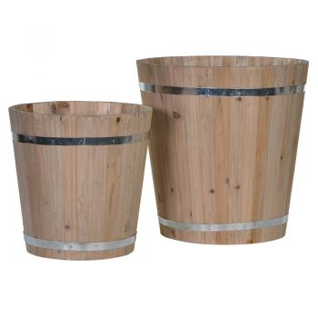Justtrio barnstaple shop. Barnstaple furniture shop. Bucket sale uk. UK planters cheap. Home decoration sale. Wooden buckets. Available in small or large, these wooden buckets make for great decoration or to use as planters. Magnificent pieces for the home.