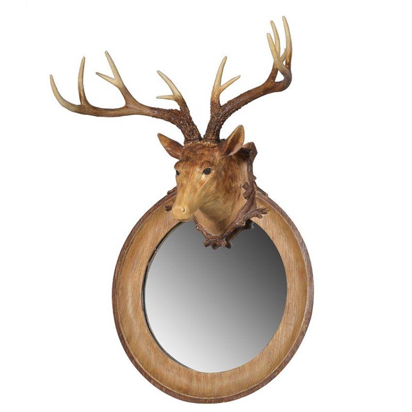 Deer Head Mirror