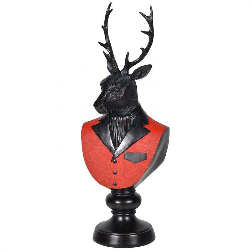 Dressed Deer Bust