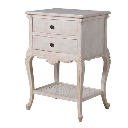 Honfleur 2 Drawer Bedside Table