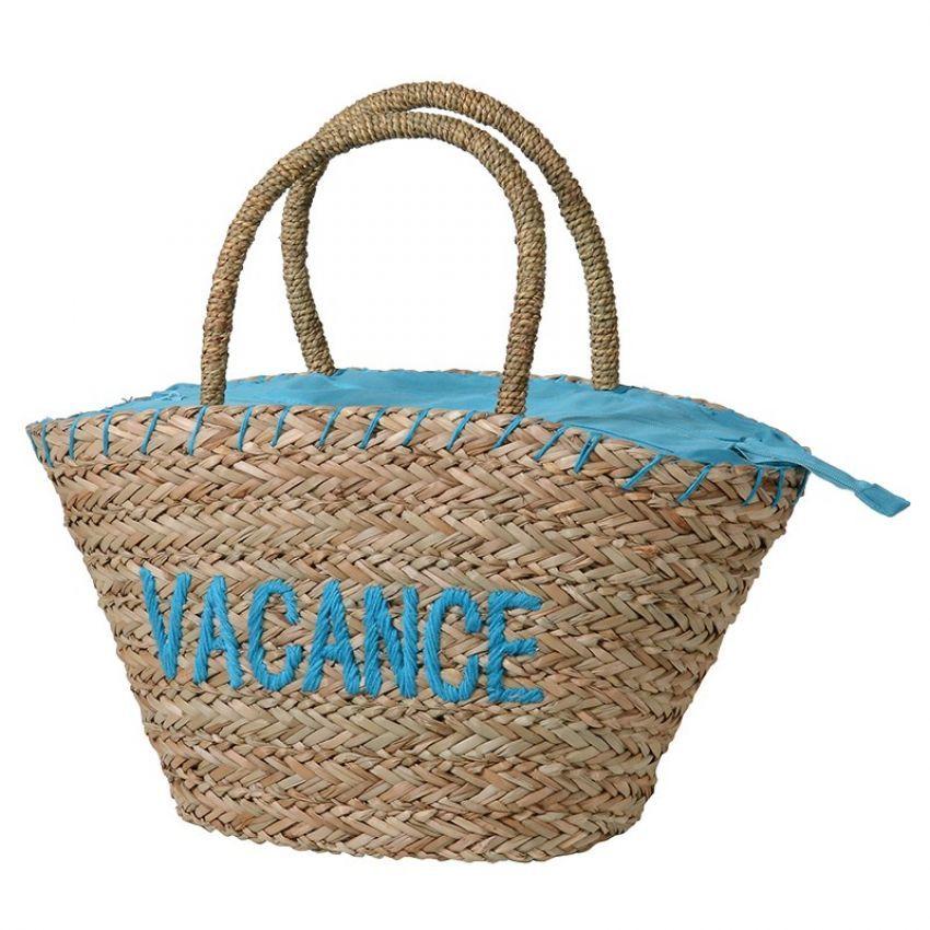 Juan-Les-Pins Vacance Basket Bag