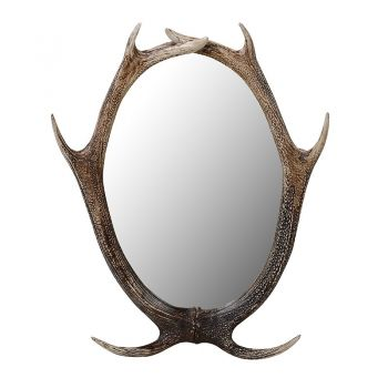 Resin Antler Wall Mirror SDG200. This antler mirror has a powerful, natural appearance that is going to make it the centre of attention in any living room.