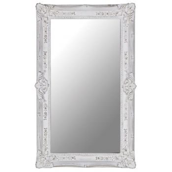 Ornate Rectangular Mirror ZS106. This gorgeous ornate mirror has a fantastic distressed finish and looks great on a large wall.