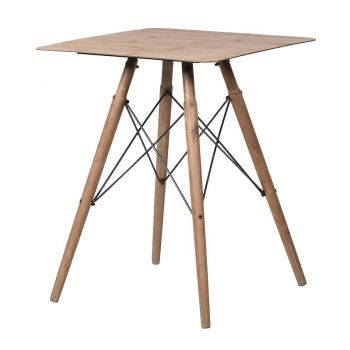 Small Laminate Top Table HUM011. A delightful side table that would sit in the corner of your living room beautifully. A lovely size to hold your favourite lamp and personal pieces!