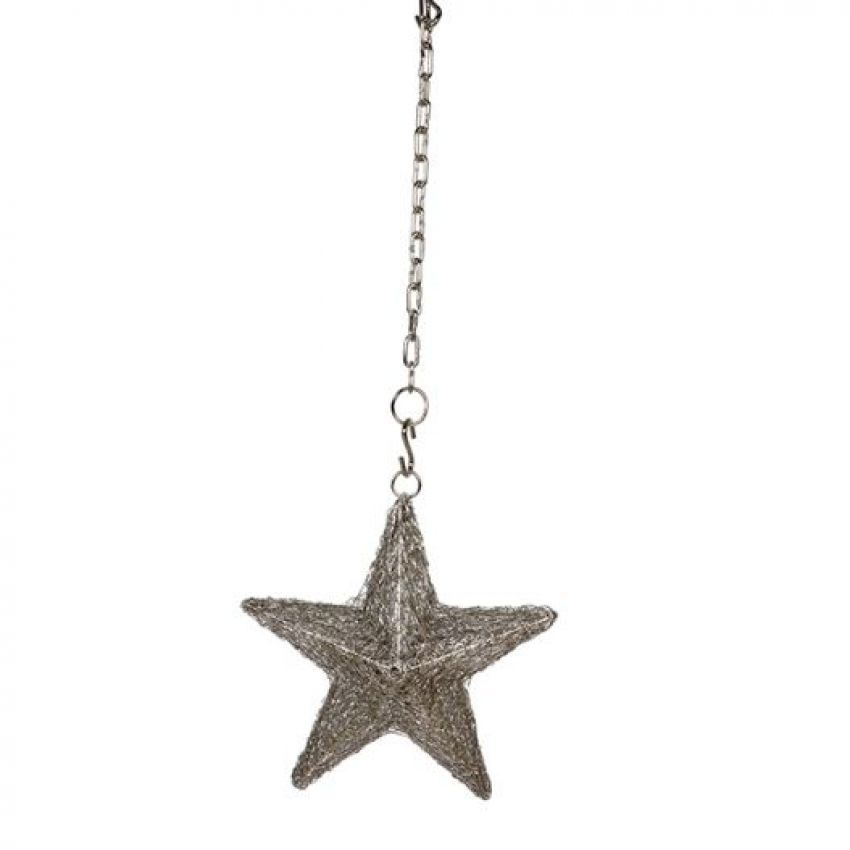Culinary Concepts LED Plain Hanging Star Small