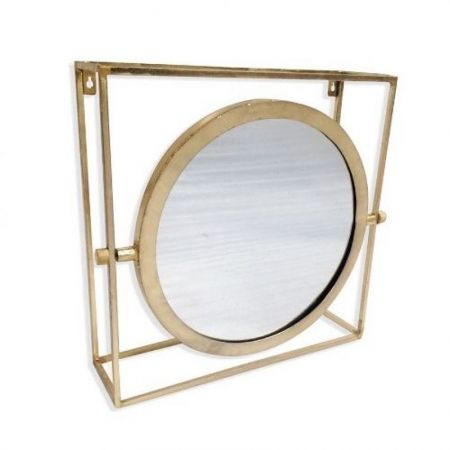 Culinary Concepts Gold Orion Single Mirror