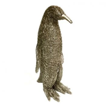 Culinary Concepts Small LED Wire Standing PenguinWR-PGN-SML. Transport a piece of the Antarctic into your home with our stunning LED Wire Standing Penguins. Let the clusters of light create a warm and cosy glow, these penguins are the most adorable way to light up your home.