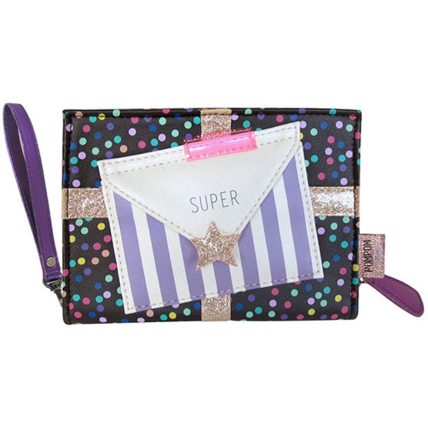 Pompom Tutti Spotty Mini Clutch Bag