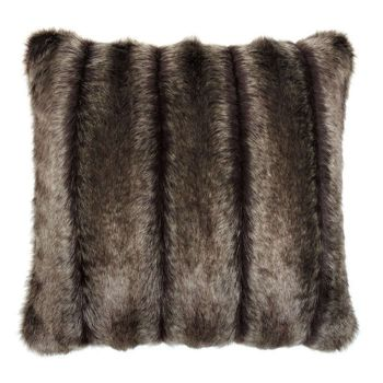 Helen Moore Oregon Cushion. A gorgeous faux fur cushion by Helen Moore designed and made in England.