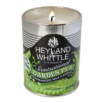 justtrio barnstaple store. Barnstaple gift shop candles. Cheap candle sale UK. Heyland and Whittle tin candles. New garden candles sale. Kitchen candles. Candle gift ideas. Heyland and Whittle Garden Pea Candle in a Can 459. This Scentsational Garden Pea Candle will fragrance your home with the summer scent of freshly picked peas, sweet and green. Deliciously fragrant! Bring the smell of nature into your home. Great as a gift!