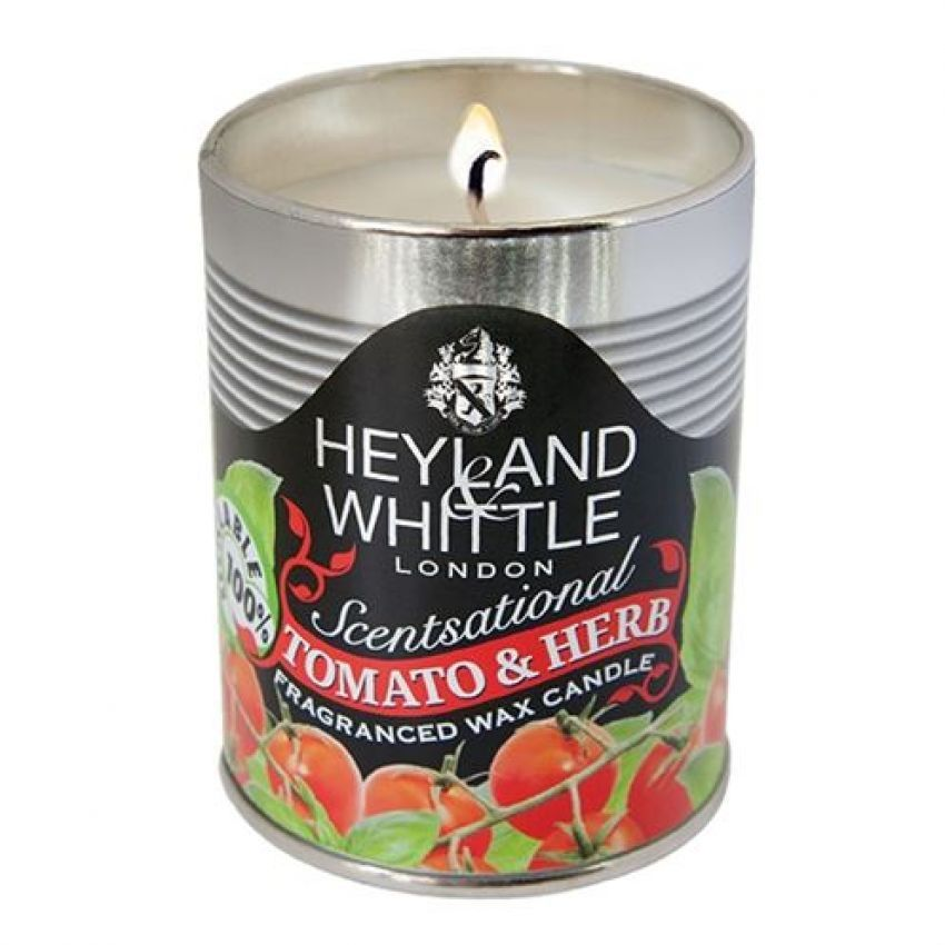 Heyland and Whittle Tomato and Herb Candle in a Can
