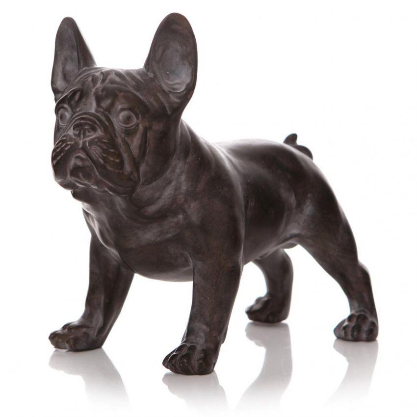 French Bulldog Standing Statue