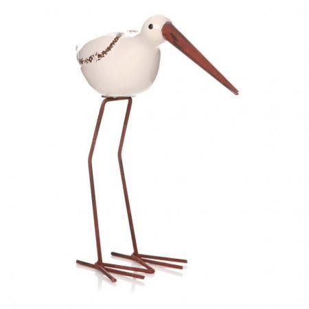 Bay Beach Bird White
