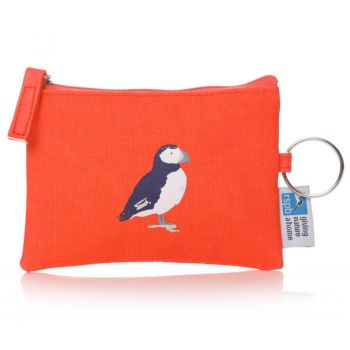 RSPB Birds Coin Purse Red 59433. A delightful RSPB coin purse in a wonderful red colour.