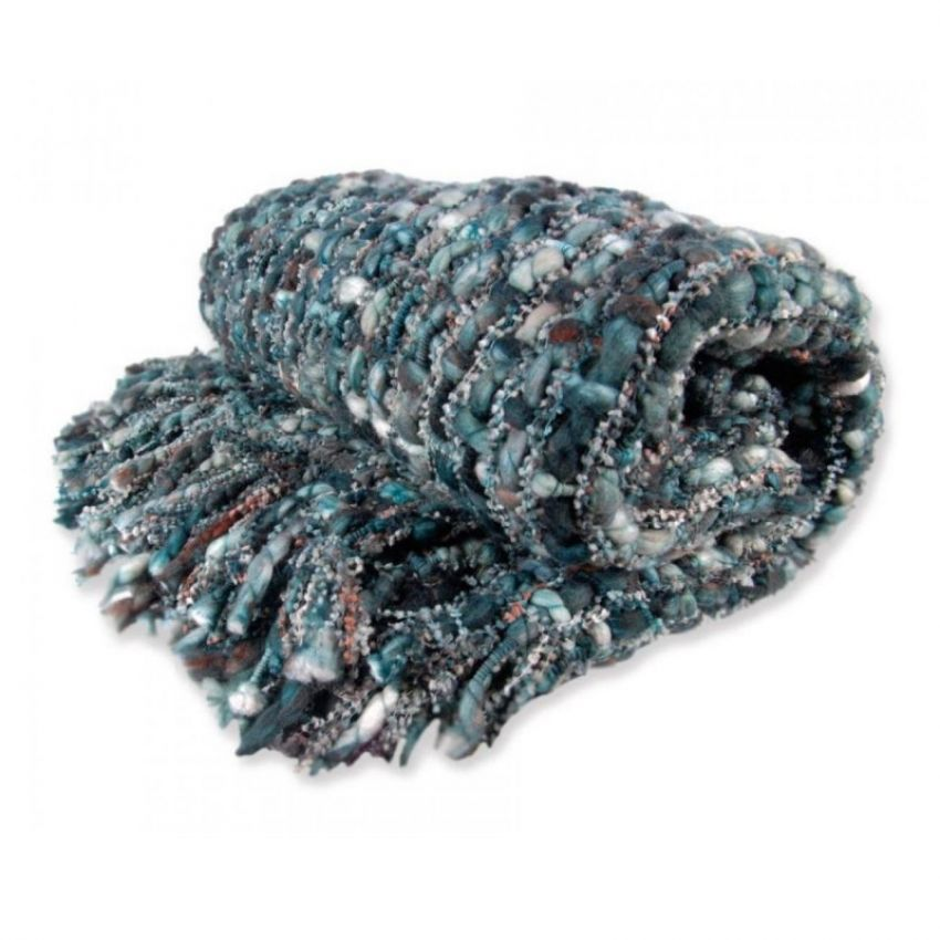 Tribeca Blue Blanket