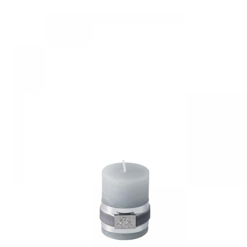 Rustic Light Grey Candle 6cm
