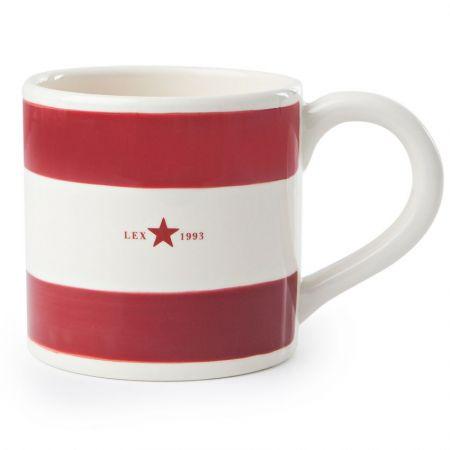 Earthenware Red Mug