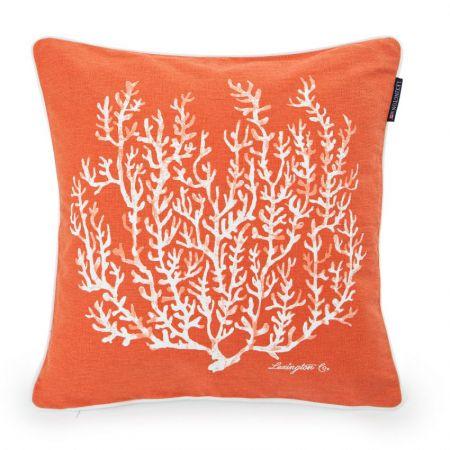 Orange Coral Sham