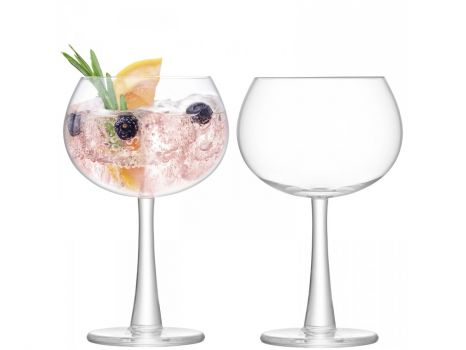 Justtrio barnstaple shop. Barnstaple furniture store. LSA International UK sale. UK LSA glasses sale. Cheap LSA UK glass.  Cheap Gin glasses UK. LSA Gin UK sale. LSA International Gin Balloon Glass 420ml x2 g1389-15-200. The thick foot and subtly flared stem add distinctive detail to this gin balloon glass.