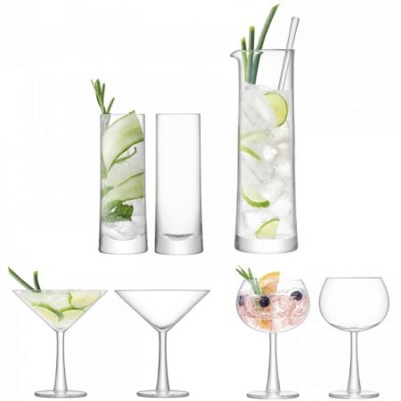 Gin Cocktail Set Clear