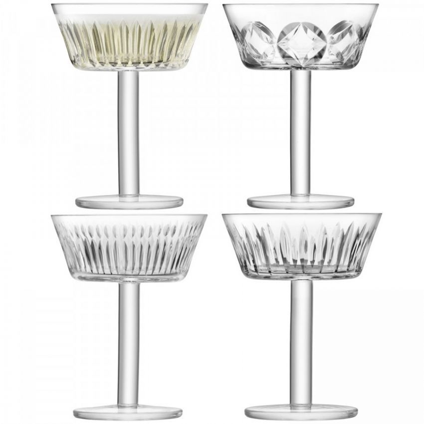 LSA International Champagne/Cocktail Glass 250ml x4
