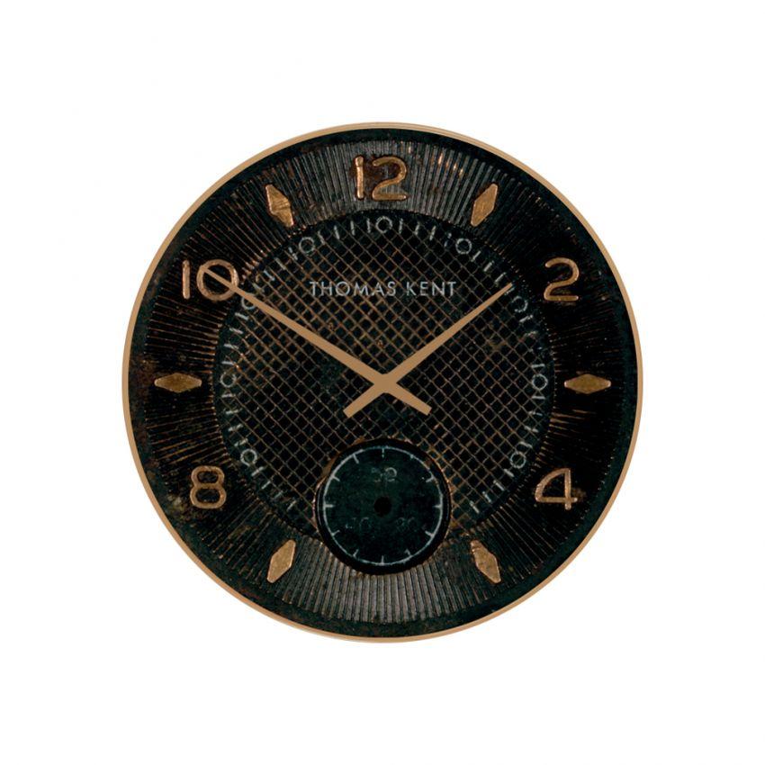 Shilling Clock Small Jet Black