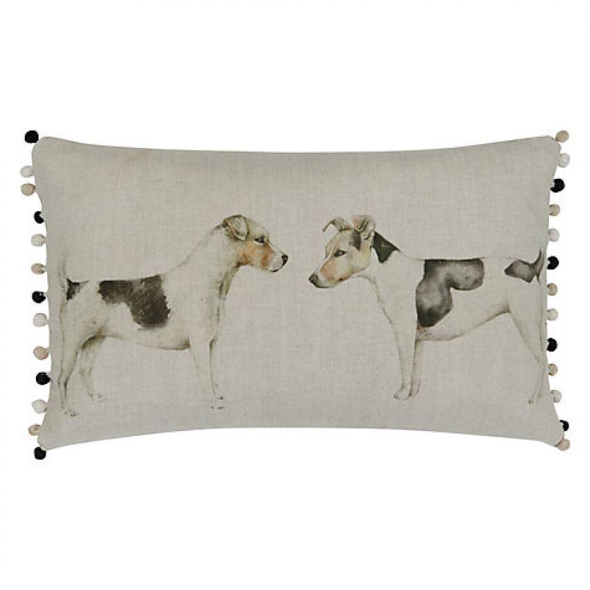 Eddie and Teddie Dog Cushion