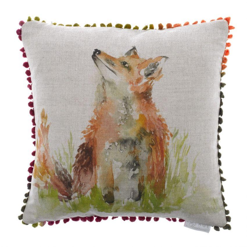 Mr Tod Fox Cushion