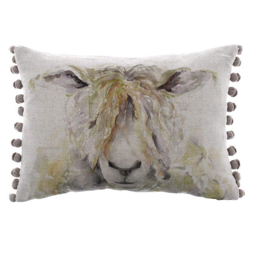 Mr Woolly Sheep Cushion