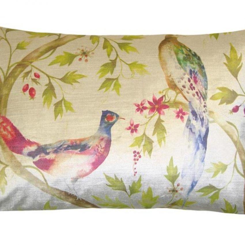 Orla Ivory Bird Cushion